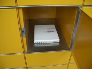 Große Box für kleines Ibook